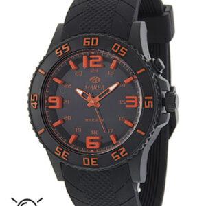 Reloj Marea de caballero con luz negro