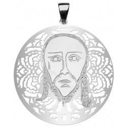 Medalla Santa Faz plata-0