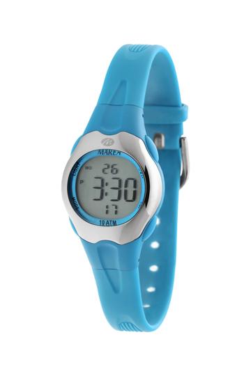 Reloj Marea digital infantil caucho azul