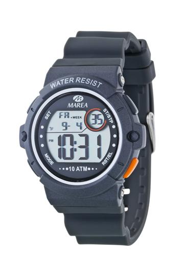 Reloj Marea digital caucho unisex-0