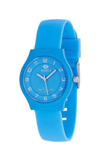 Reloj Marea Nineteen plano azul