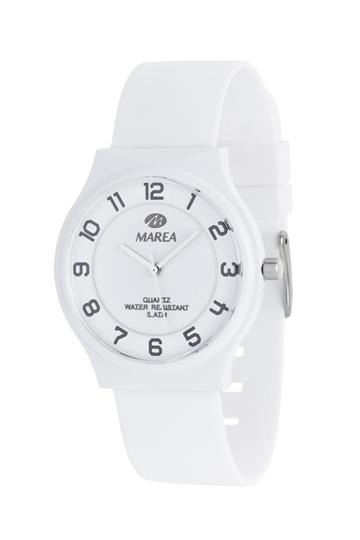 Reloj Marea nineteen plano blanco