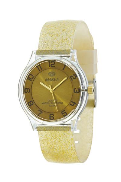 Reloj Marea nineteen plano dorado 40 mm