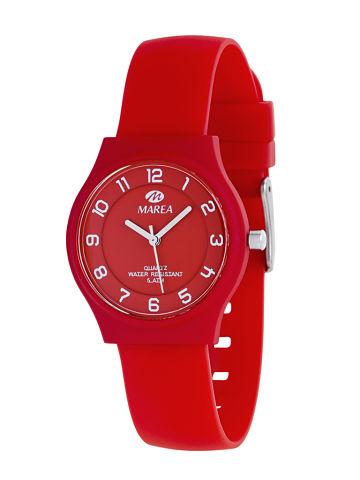 Reloj Marea nineteen plano rojo