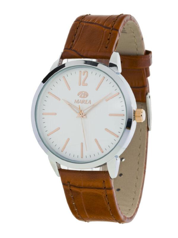 Reloj Marea de caballero correa piel marrón