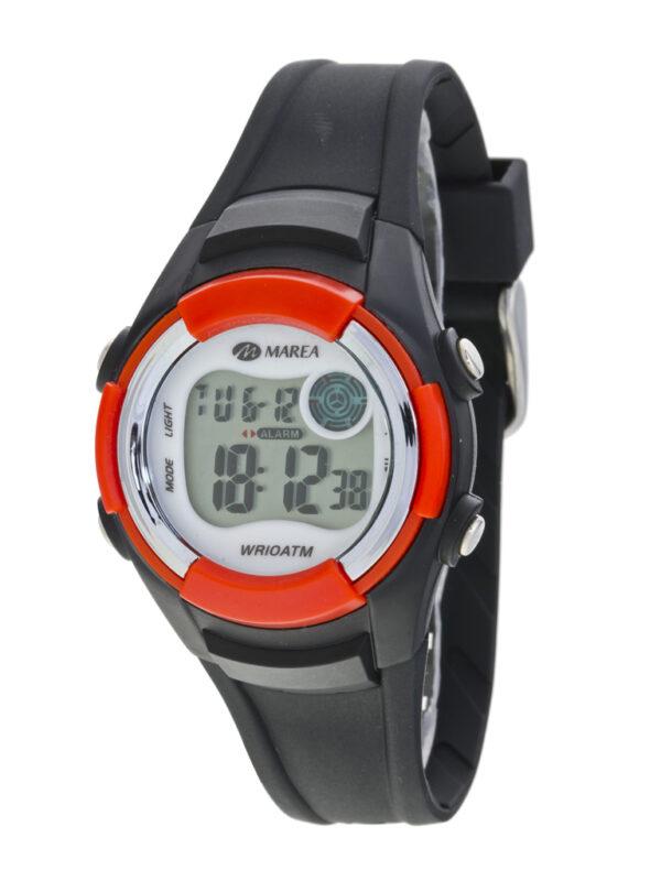Reloj Marea juvenil digital caucho negro -0