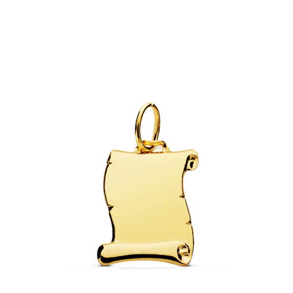 colgante-pergamino-oro