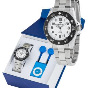 Reloj Marea metálico cadete -0
