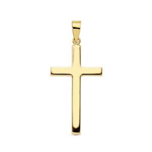 Cruz oro comunión sencilla