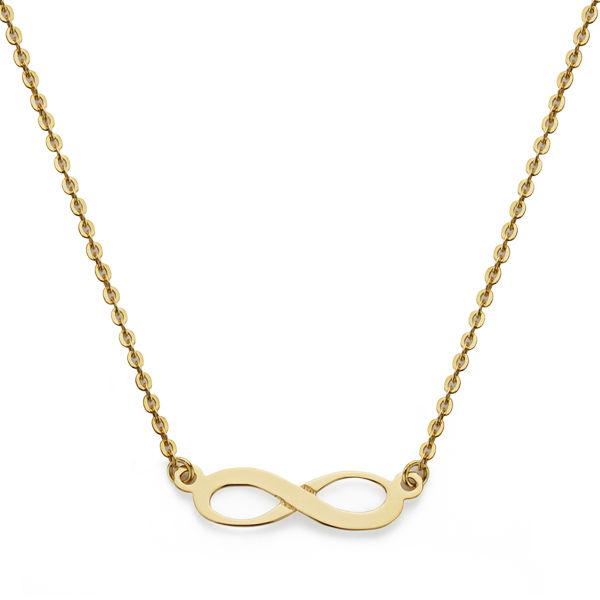 Collar oro 18 k infinito