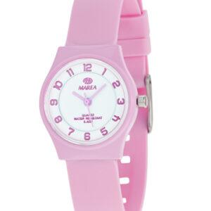 Reloj Marea Nineteen plano rosa