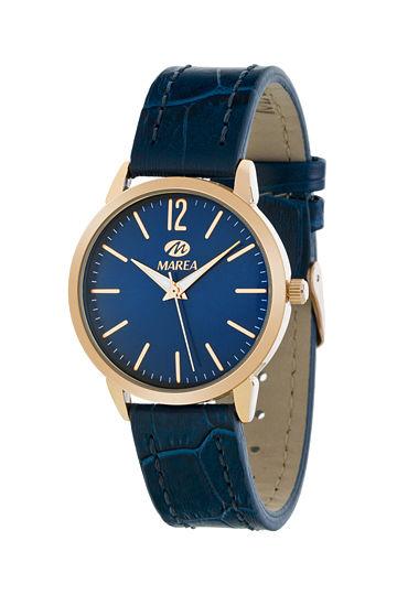 Reloj Marea de mujer correa piel azul