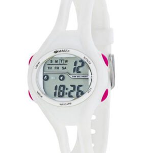 Reloj Marea digital blanco