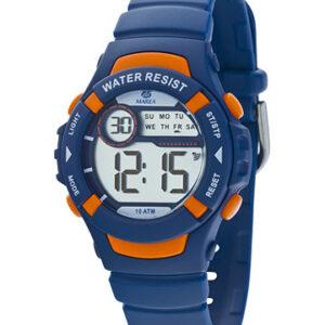 Reloj Marea digital caucho azul