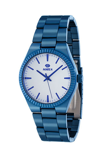 Reloj Marea mujer metálico azul