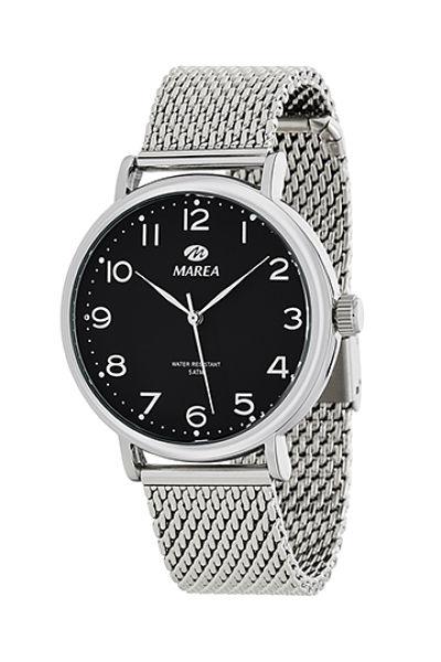 Reloj Marea hombre negro de la colección retro