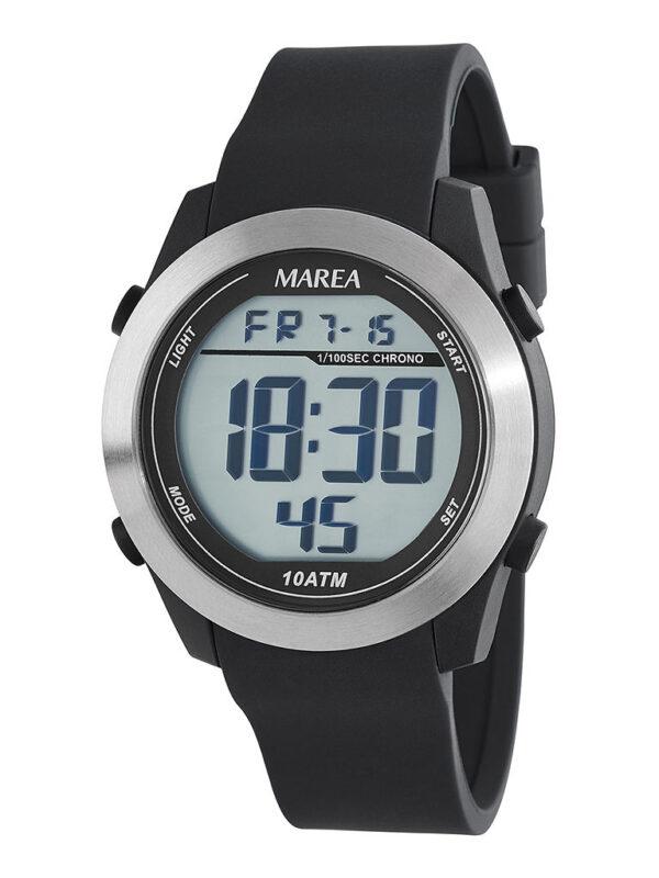 Reloj Marea digital hombre sport negro