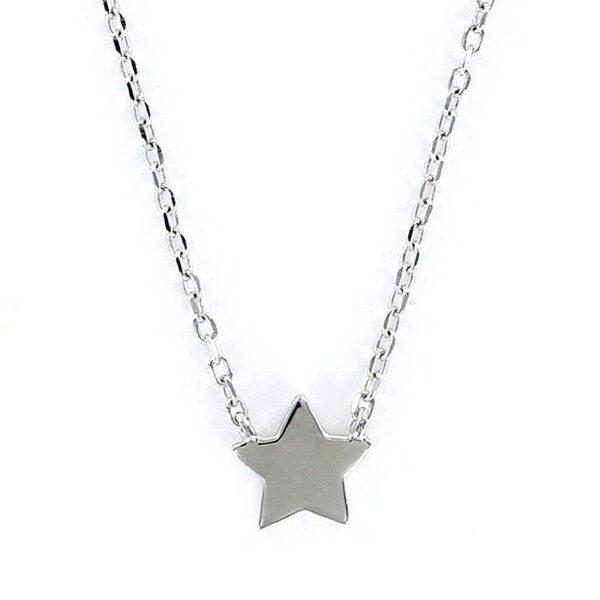 Gargantilla plata de ley estrella