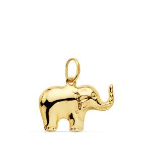Colgante oro 18k elefante