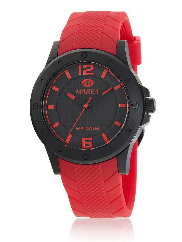 Reloj Marea caballero sport rojo